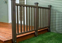 Trex Deck Railing Installation