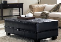 Tufted Ottoman Coffee Table With Storage