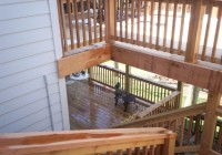 Two Story Deck Design Ideas