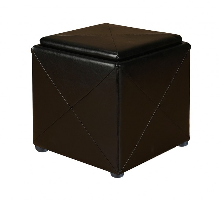 Permalink to Upholstered Storage Ottoman Cube