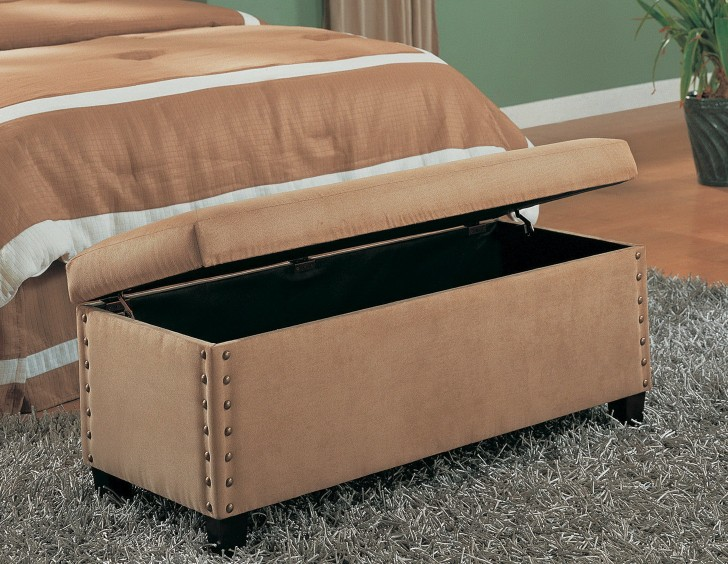 Permalink to Upholstered Storage Ottoman Nz