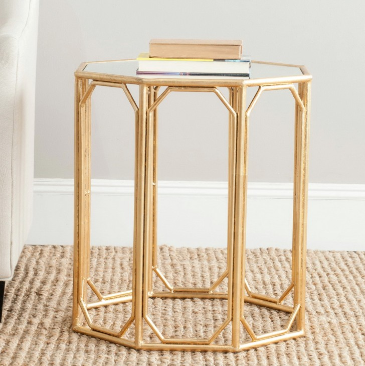 Permalink to Upton Home Dalton Mirrored Accent Table