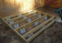 Using Concrete Deck Blocks