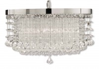 Uttermost Fascination 3 Light Chandelier