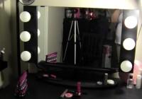 Vanity Girl Hollywood Pink Starlet Mirror