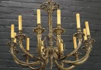 Vintage Brass Chandelier Parts