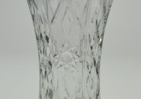 Vintage Clear Glass Vases