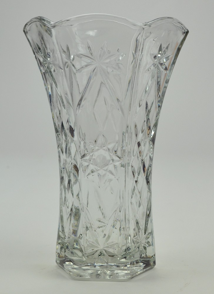 Permalink to Vintage Clear Glass Vases