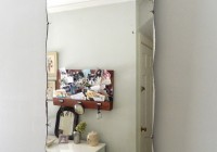 Vintage Frameless Beveled Mirror
