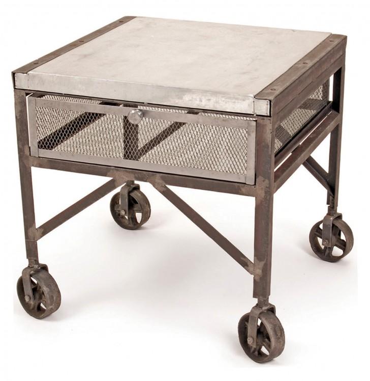 Permalink to Vintage Industrial Side Table