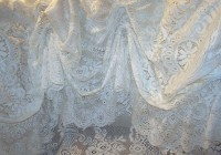 Vintage Lace Shower Curtains