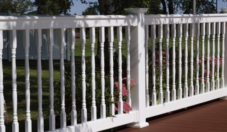 Permalink to Vinyl Deck Railing Systems