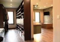 Walk In Closet Designs With Bathroom