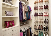 walk in closet shoe organizer