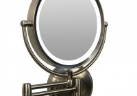 Wall Mount Makeup Mirror Target