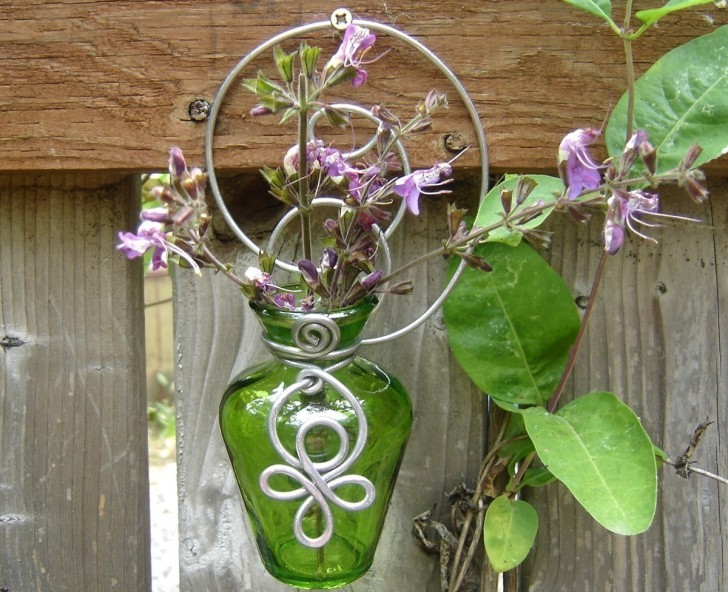 Permalink to Wall Mounted Glass Flower Vases