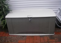 Waterproof Deck Box Home Depot