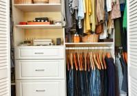 Ways To Organize A Small Closet