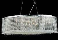 Welles Clear Crystal Round Chandelier
