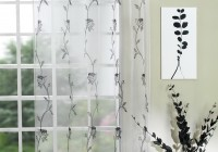 White And Black Curtains Uk