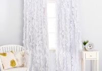 white and purple blackout curtains