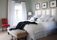 White Bedroom Curtains Ideas