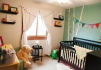 white blackout curtains nursery