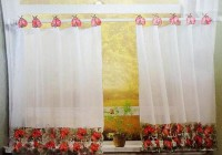 White Cafe Curtains Target