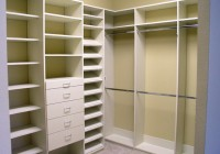 White Closet Shelving Systems
