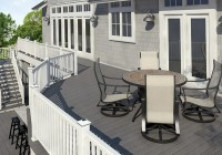 White Composite Decking Canada