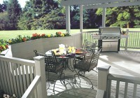 White Composite Decking Home Depot