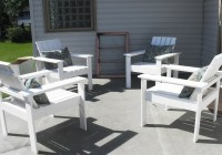 White Deck Chair Covers