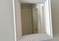 White Framed Mirrors For Sale