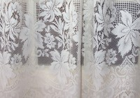 White Lace Curtains Walmart