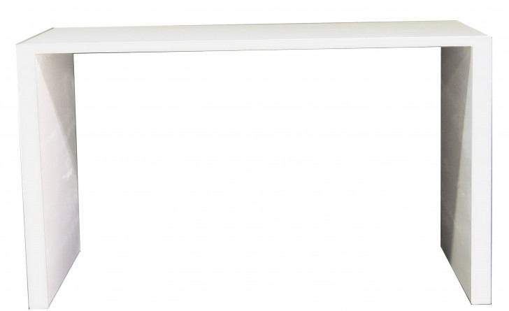 Permalink to White Parsons Console Table