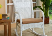 White Rocking Chair Cushions