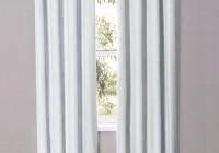 White Room Darkening Curtains
