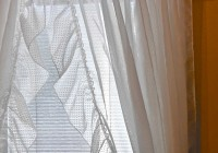 White Ruffle Curtains Canada