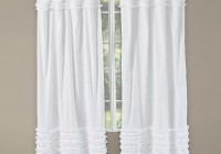White Ruffle Curtains Uk