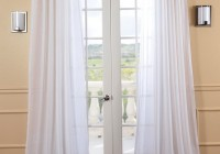 White Sheer Curtains 96
