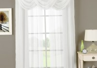 white sheer grommet curtains