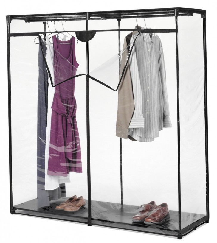Permalink to Whitmor Extra Wide Portable Clothes Closet