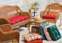 Wicker Settee Cushions Outdoor