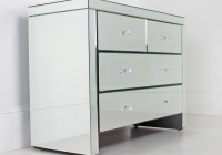 Wide Mirrored Chest Of Drawers