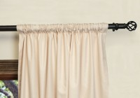 Wide Pocket Curtain Rod Installation