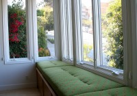 window bench cushions custom
