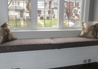 window bench cushions diy