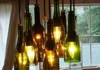 Wine Bottle Chandelier Diy