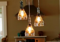 Wine Bottle Light Fixture Chandelier