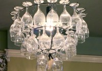 Wine Glass Chandelier Diy
